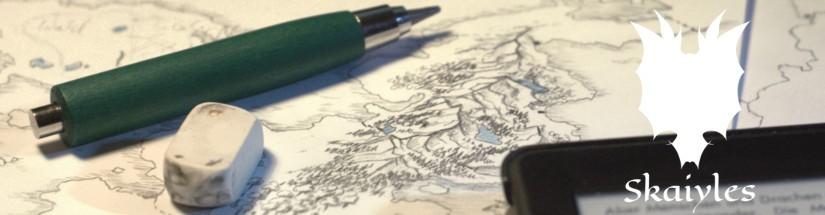 Die Karte von Druidsham nimmt Form an